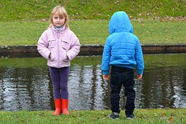 two kids_girl_boy_cold_creek